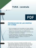 Propagacion de Las Grietas de Clivaje