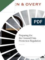 Radical Changes to European Data Protection Legislation