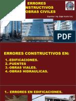 Errores Constructivos en Obras Civiles 2