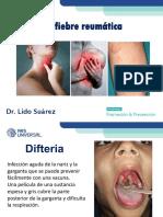 Difteria y Fiebre Reumatica
