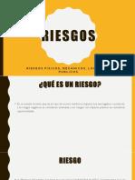 Riesgos Fisicos,Locativos, Publicos y Mecanicos.