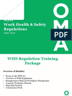 WHS Regulation Training Presentation-DW-August