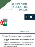 03.Organización Tabular de Datos