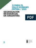 Segregación Residencial en Argentina
