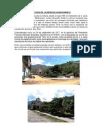 Historia de La Merced Chanchamayo