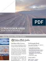 5 Photographs eBook From Nature Photo Guides