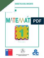 Matemática 1º básico - Guía didáctica del docente.pdf