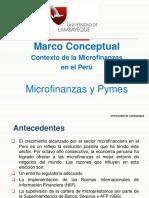 Contexto de Las Microfinazas en El Perú