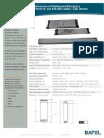 Flyer HFX ARC LED Versjon