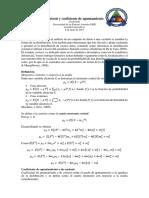 Curtosis y Coeficiente de Apuntamiento