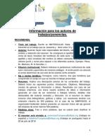 00. Información Para Autores de Trabajos-Ponencias Congreso ALFEPSI 2018
