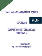 Competitividad y DesarrolloEmpresarial