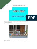 Copy Disc Pada Nero StartSmart 8