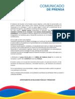 Boletin de Prensa General