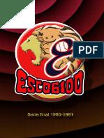 Escogido, Campeón 1980-81