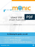 Picmonic Step 1 Study Guide