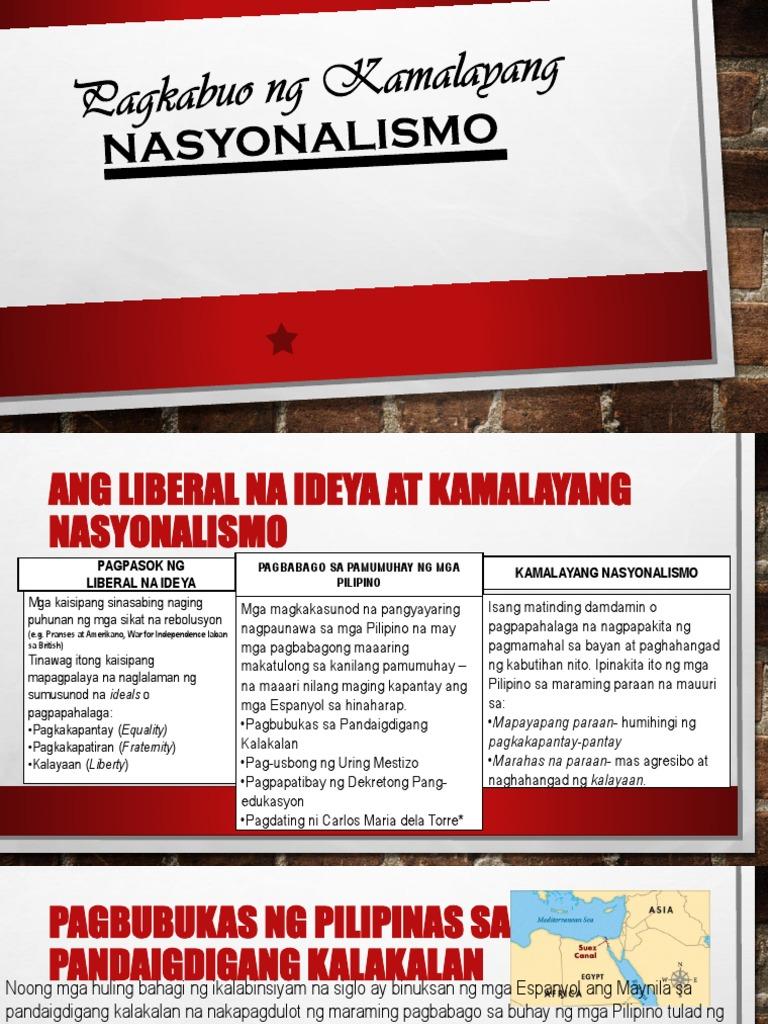 Ang pagdating ng kaisipang liberal