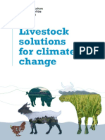Livestock solutions for climate change