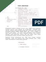 Surat Pernyataan Keabsahan Harta