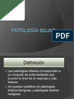 Patologia Biliar