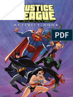Justice League Activity Book