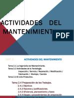Cap.2 Actividades Del Mant. (2.4 y 2.5) (1)