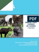 Manual de Cuidado Para Tapires (Tapiridae)