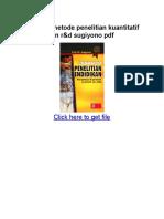 Buku Metodologi Penelitian Pendidikan Sugiyono Pdf