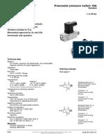 5.14.1 Norgren Pneumatic Pressure Switch