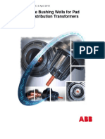 Abb High Voltage Bushing Wells for Pad Mounted Distribution Transformers R5