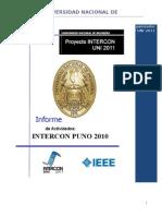 Informe PUNO2010
