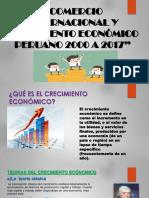 Comercio Internacional y Crecimiento Económico Peruano 2000 a 2017