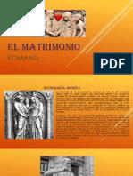 El Matrimonio Derecho Romano