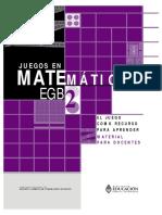 Juegos de Matematica - EGB1 - Docente.pdf