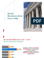 8 Recursos Ley 11683
