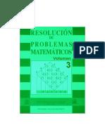 Resolucion de Problemas Matematicos III