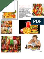 Cómo Afecta El Consumo de Comida Chatarra