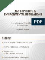 Human Exposure and Environmental Regulations of FRCs