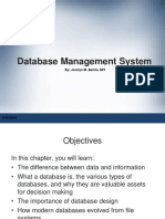 Chapter 1 -Database Management Systems -