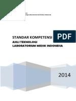 Buku Standar Kompetensi TLM Indonesia