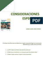 Consideraciones Especiales y Éticas en Rcp Neonatal