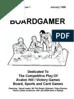 Boardgamer v3n1