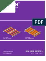 Fibon Busbar Supports 2 6v6 - ASTA Type Tested