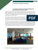 Resena Curso Capitulo Diseno Sismo 2015 Obras Civiles Cfe Junio 2017