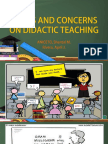 ISSUES and CONCERNS on Didactic Teaching