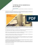 Variación en el tiempo de la resistencia a compresión del hormigón.docx