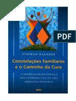 Constelac_o_es Familiares e o Caminho Da Cura