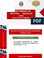 Compromisos de Gestion Escolar-2018