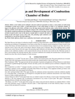 Review on Design and Development of Combustion Chamber of Boiler