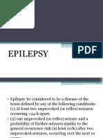 Epilepsy ppt